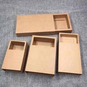 Image 2 - 50 sztuk na prezent, z papieru siarczanowego pudełka do pakowania puste pudełko papierowe DIY pudełka do przechowywania na mydło wyrabiane ręcznie/prezenty/rzemiosło/biżuteria/cukierki/ciasto/Rose
