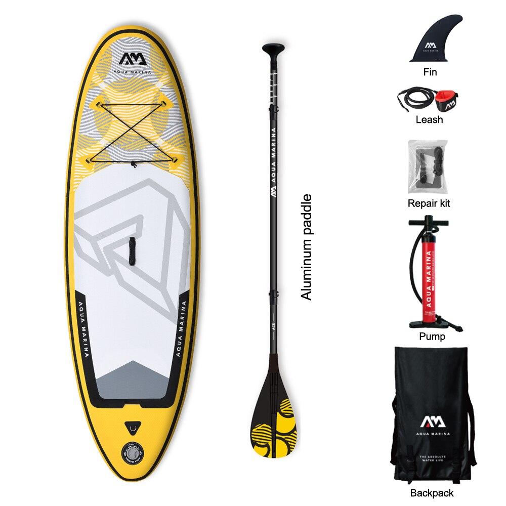 Aqua marina Vibrant 8 pieds gonflable SUP Stand up Paddle Board gonflable enfants planche à pagaie planche de surf pour enfant