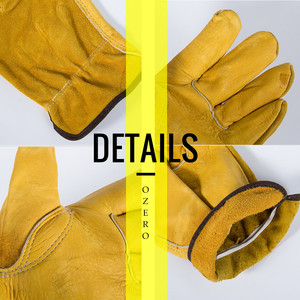 Image 4 - OZERO Mens Work Gloves Cowhide Driver Security Protection Wear Safety Workers Welding Moto Hunting Hiking Gloves For Men 0007
