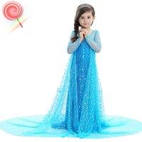 Little Girl Dresses Snow White Costume 2019 New Fashion Girls Maxi Dress Spring Summer Party Cinderella Dress 4 5 6 7 8 9 10 12