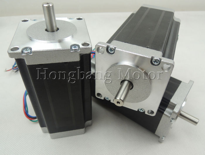 Nema23 stepper motor / 112mm 3A 425oz/in 2 phase 4-wire hybrid(Shaft Diameter 8mm) horowitz troubleshootong &amp repairing electronic test equipment 2ed paper only page 7