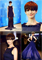 2016 Belin film festival Anne Hathaway Celebrity Dresses Beading Crystals Sheath Short Prom Dress with Train Sexy Party Gowns