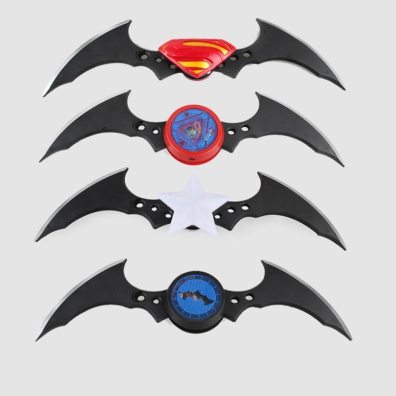 NECA Superman Batman Arkham Knight Batarang Replica Darts Action Figure Led Light Model Toy batman arkham knight vol 2