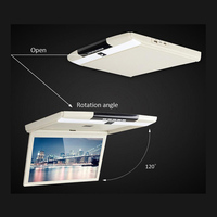 15.6 inch 1920*1080 DIGITAL PANEL HD LED Roof mount Monitor with Android System 6.0 with HDMI USB SD