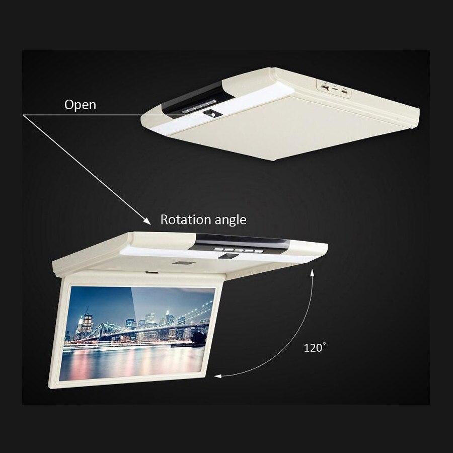 15.6 pouces 1920*1080 panneau numérique HD LED moniteur de toit avec système Android 6.0 avec HDMI USB SD