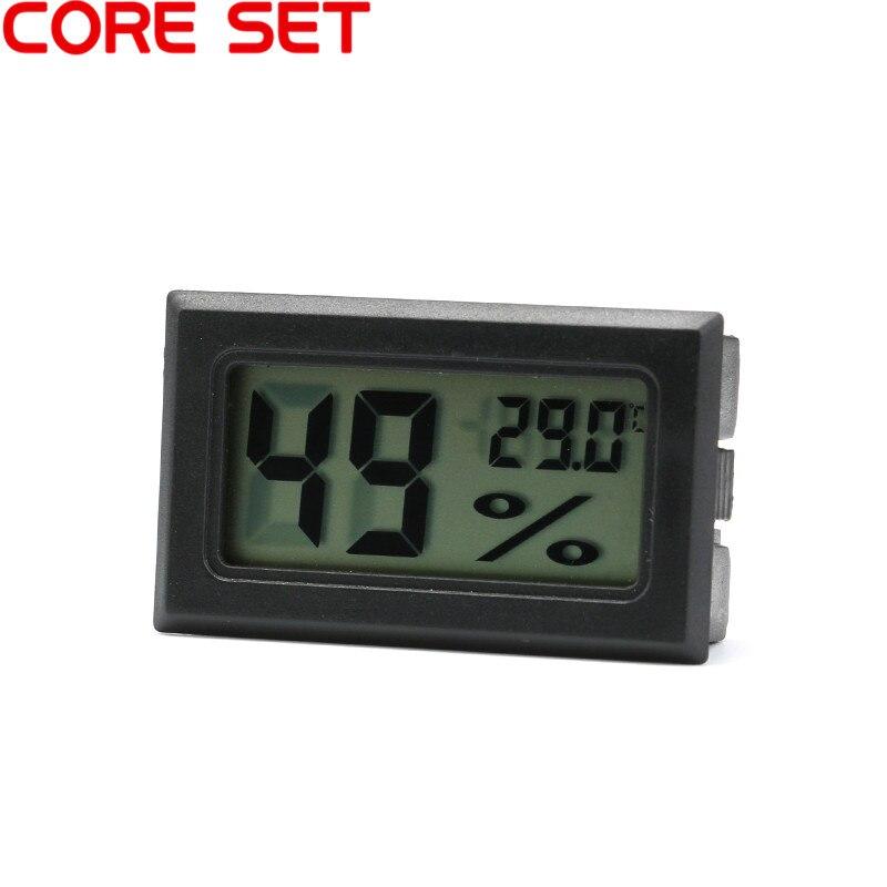 1 PCS Mini LCD Digital Hygrometer Thermometer For Incubator Temperature Indoor Convenient Temperature Sensor Humidity Meter cigar box shape 1 0 lcd electric thermometer humidity meter black 1 x ag13