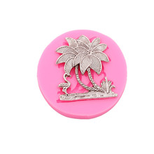 Coconut tree Cakes Silicone Molds Handmade Chocolate Crafts Desserts Decorative DIY Bakery Baking Tools new