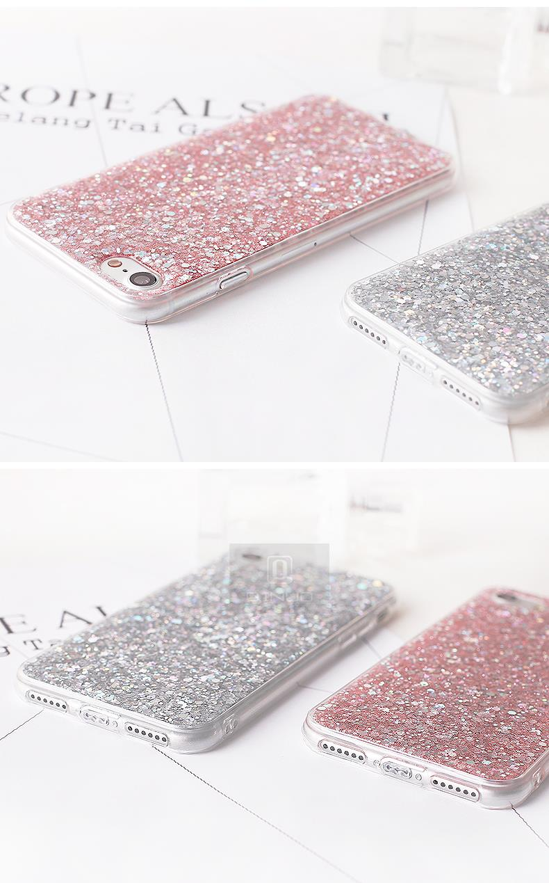 HTB1EQSFaoLrK1Rjy0Fjq6zYXFXaM - Gurioo Silicone Bling Glitter Crystal Sequins Hard shell Phone Case For iPhone 11 5 SE 6 6S 7 8 X Plus XR XS Max Protective Case