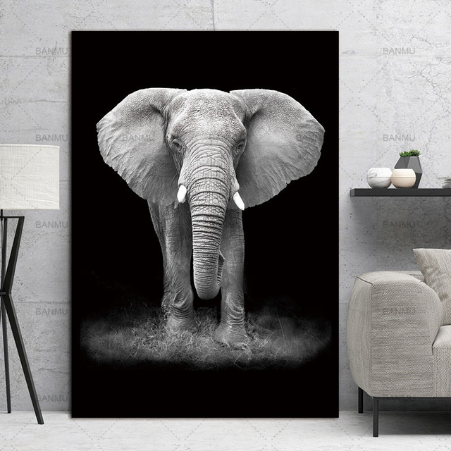 Top Animal Canvas Painting Wall Art Picture Living Room Poster No Frame Morden Print