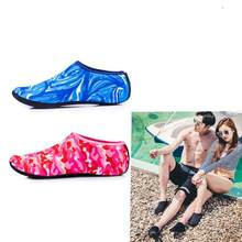Unisex Comfortable Snorkeling Socks Anti-slip Diving Socks Snorkel Suit Scuba Boot Water Swim Beach Swim Shoes Sneakers(China)