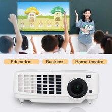 CRE X1800 3LED 3LCD 3800 люмен портативный проектор для школы Android/Wi-Fi для офиса и образования, hd 720p 1080p Поддержка prooyector