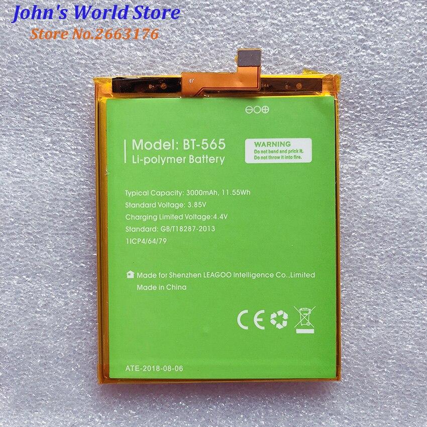 100% Nova BT-565 3000mAh Bateria Para Leagoo KIICAA Mix T5 T5C BT565 Peças de Telefone Celular Bateria Baterij Batterie