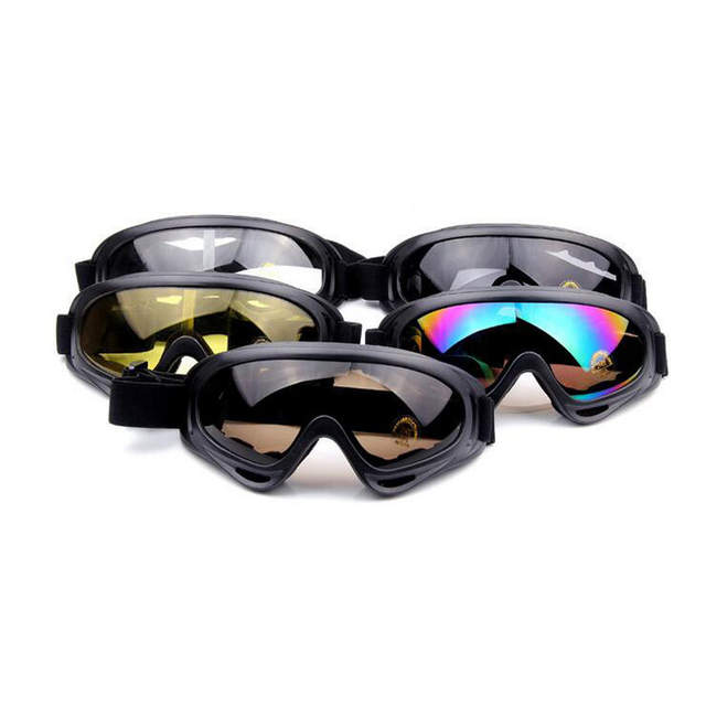 5a9fc11ac80 Online Shop 2017 Motorcycle Protective Glasses Outdoor Sports Windproof  Dustproof Eye Glasses Ski Snowboard Goggles Motocross Riot Control