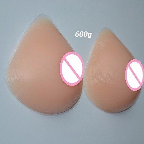1 pares formas mamarios de silicone realista