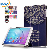 2017 New Fashion Stand PU Leather Case Flip Cover For Huawei MediaPad M2 Lite 10 1