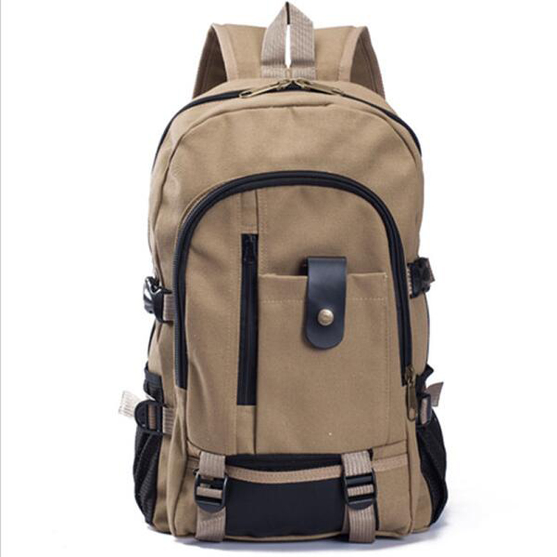 Large Capacity Fashionable Casual Canvas Backpack Middle School Students School Bag Travel laptop bag mochila bolsas casual canvas satchel men sling bag