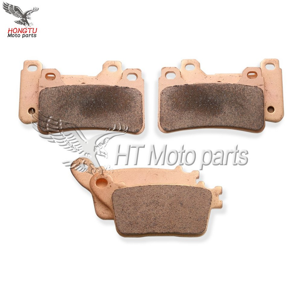 Rra 2007-2016 Cbr1000 Cbr 1000 Rr Ra9 2009-2016 abs Model Well-Educated Motorcycle Metal Sintering Brake Pads For Honda Cbr 600 Cbr600 Rr