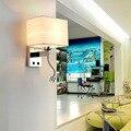 DX современный светодиодный настенный светильник для домашнего декора  осветительный прибор для макияжа  светильник для спальни  светильни...