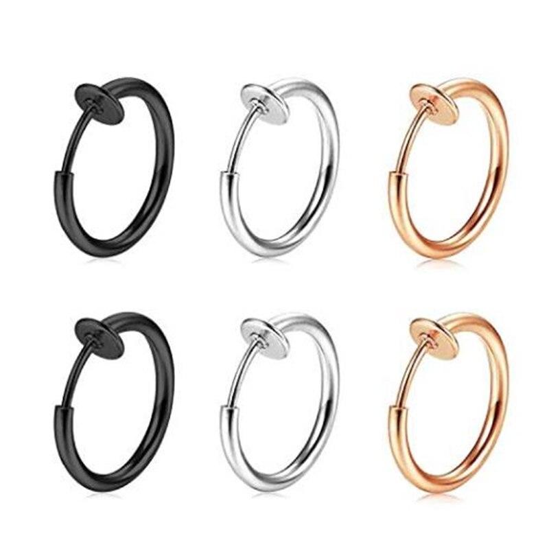 Non-Piercing Septum Earrings Hoop