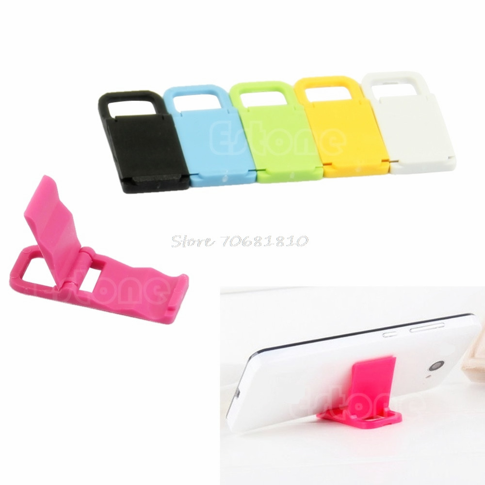 10Pcs/<font><b>lot</b></font> Universal Mini Foldable <font><b>Cell</b></font> <font><b>Phone</b></font> <font><b>Stand</b></font> Holder For iPhone 5/4 For Samsung For HTC -R179 Drop Shipping