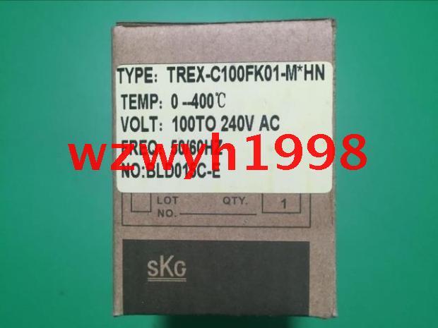 Genuine SKG temperature controller SKG REX C100 thermostat  TREX-C100FK01-M*hn genuine skg temperature controller skg rex c400 temperature controller trex c400 temperature control trex c400fk01 m hl