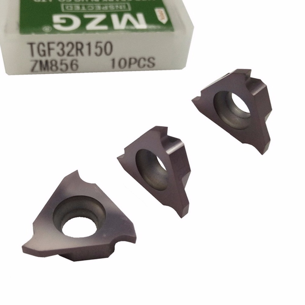 Preço com Desconto Rasa em Aço Cortador de Grooving Ferramentas de Corte Pastilhas de Metal Triângulo Inoxidável Duro Sólido Mzg Tgf32r150 Zm856