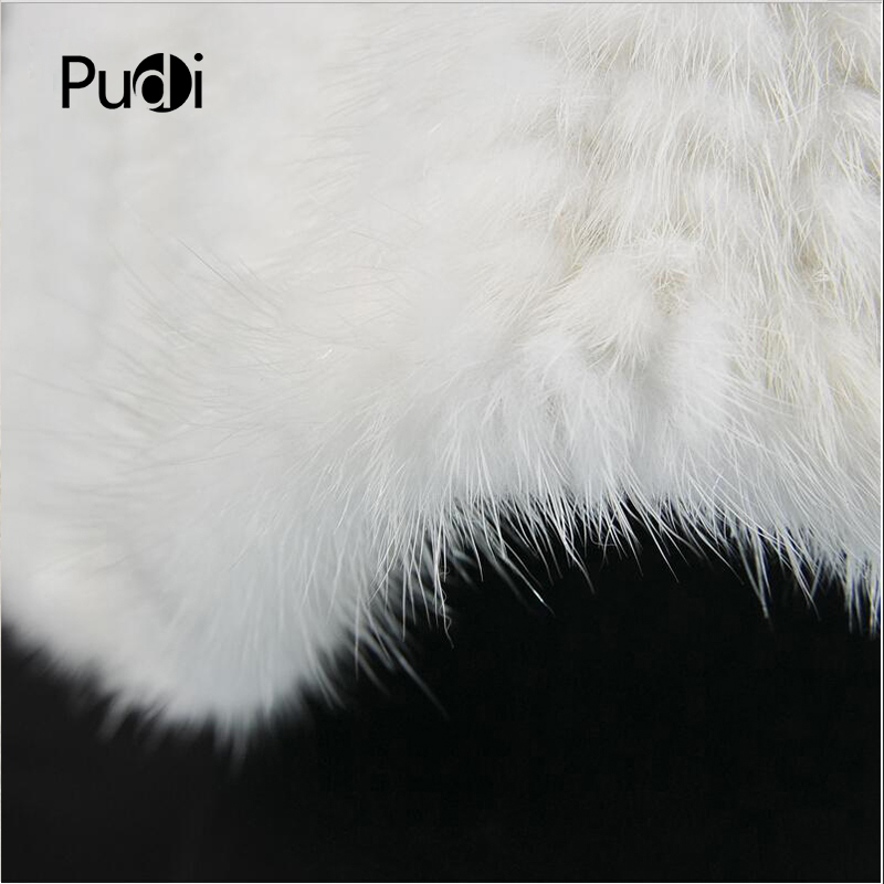 SCM045 The new women winter 100% real genuine mink fur white scarf womens mink winter shawl warmer solid fashion scarves