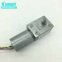 Bringsmart JGY 2838 DC Worm Gear Brushless Motor Reverse Gearbox 12V Built In Driver Self Locking