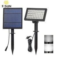 T SUNRISE 5W 50 leds Solar Lamp Solar Powered Lighting LED Garden Light Solar Spotlight Waterproof for Tree, Patio, Yard