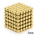 Cubo magnético 3mm 216 Unids Perlas Magnéticas Imán Esferas Juguetes Creativos para Niños MoFang Hogar Tablero de Juego de la Diversión