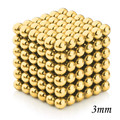 Magnetic Cube 3mm 216Pcs Magnetic Beads Magnet Spheres Creative Toys for Children MoFang Home Game Fun Board