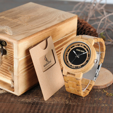 Dřevěné hodinky – Csilla