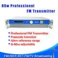 Бесплатная Доставка! FMUSER ФСК-80W 80 Вт Fm-передатчик Радио Транслятор Для Радиостанции FM