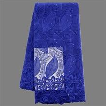 Charming party Französisch tüll spitze-gewebe nizza stickerei Afrikanische tüll stoff für abendkleid YN59 (5 yards/pc)