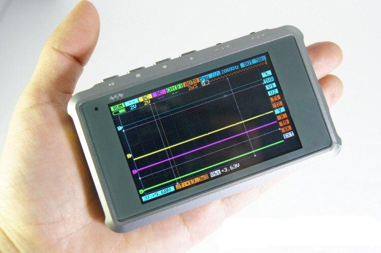 Mini Oscilloscope ARM DSO Nano DSO203 Pocket Size Digital Oscilloscope  цены