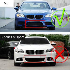 Image 3 - Диффузор для заднего бампера из углеродного волокна, спойлер для BMW 5 серии F10 M5 седан 2012 2017, детали для тюнинга автомобиля