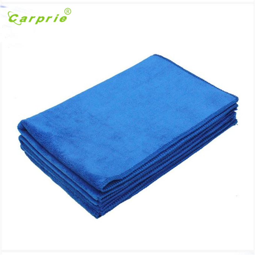 Dropship Hot Selling Thicken 40*60cm Blue Absorbent Wash Cloth Car Auto Care Microfiber Cleaning Towels Cloths Gift May 22