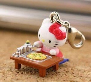 Mixed Styles & Colors HELLO KITTY CELL PHONE MOBILE PHONE STRAP 50pcs/lot+Gift&Free Shipping