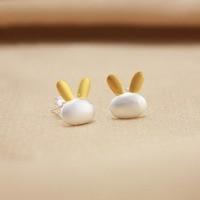 New fashion Simple lovely Funny samll rabbit Earrings studs Jewelry Earrings DER86