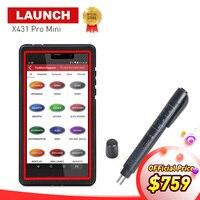 LAUNCH X431 Pro Mini Bluetooth Wifi Full ECU Diagnostic Scanner With 2 Years Free Update X