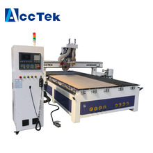Syntec controller system 3D wood cnc router ATC circular saw door cutting machine 2000*4000mm