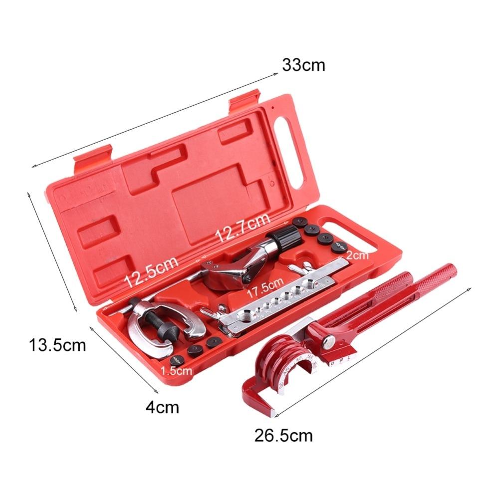 11pc Brake Fuel Tube Repair Flare Kit  Pipe Flaring Kit W//Cutter Bending Tool HO