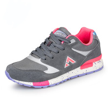 Running footwear Outdoor Women Breathable fast dry Leisure sports activities footwear Rubber non-slip marathon Running health footwear