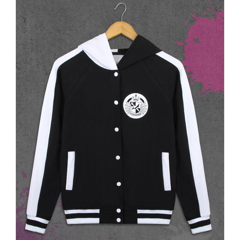 Image 3 - Adult Thick Cotton Anime Danganronpa Monokuma  Hooded Hoodie Jacket Costumes Cosplay For Woman Man Plus Size-in Anime Costumes from Novelty & Special Use