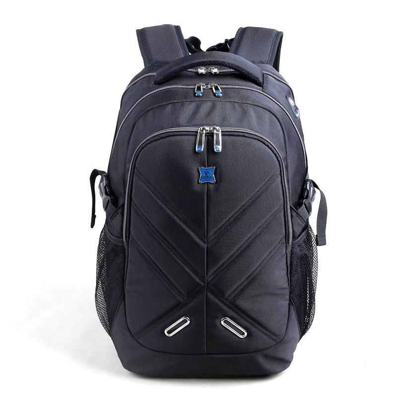 все цены на  Shockproof Air Cell Cushioning Laptop Backpack Men 15.6 inch Black Business Double Shoulder Bag Travel School Bag  онлайн