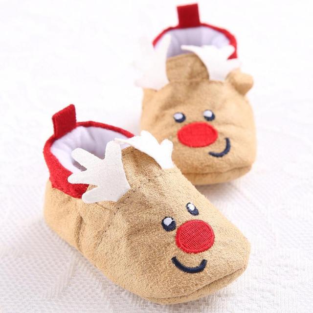 christmas baby maluch niemowla t a niegu buty mia kkie sole prewalker crib shoes