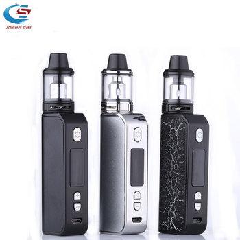 цена на Electronic cigarette 80w kit 2ml tank vape liquid box mod 2200mAh vapor smoke vape pen vaporizer E-cigarette hookah vaporizer