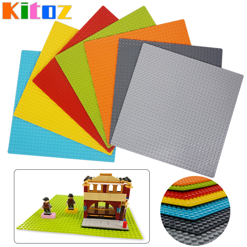 Kitoz Large Size Base Plate Big 32x32 Dots Baseplate Bottom Board For Figure DIY Building Block Toy 100% Compatible With Lego