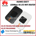 Hot Sale Original Unlock LTE FDD 150Mbps HUAWEI E5577 4G LTE Mobile WiFi Router Support LTE FDD And TDD Network