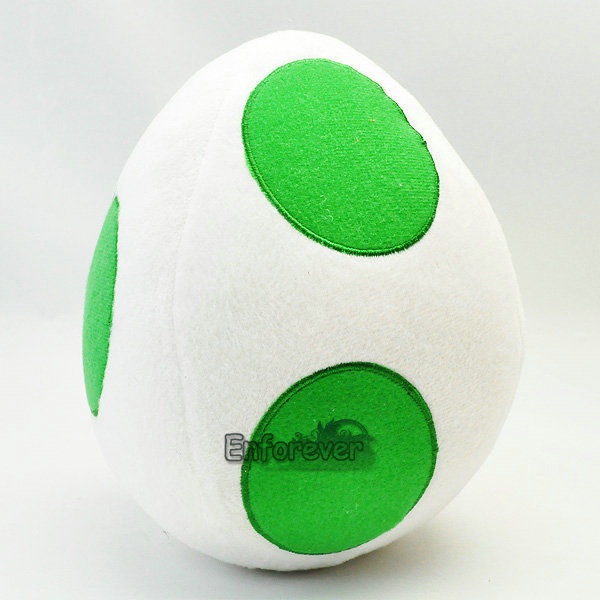 2016 Fashion New 8in Super Mario Bros YOSHI EGG Cute Soft Plush Doll Toy Cute Unisex Toys for Kids 30cm super mario bros green yoshi soft stuffed plush toys doll with tag gift for kids